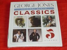 GEORGE JONES ORIGINAL ALBUM CLASSICS 5 CD BOX Audio CD