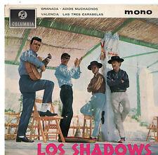 """The Shadows - Los Shadows 7"""" Ep 1963"""