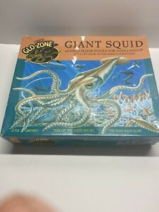Ceaco Glo-Zone Glow In The Dark Giant Squid