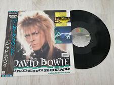 David Bowie – Underground - 1986 - FIRST PRESS MADE IN JAPAN - OBI& INSERT