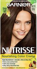 Garnier Nutrisse Nourishing Color Creme, Bronze Brown [413] 1 ea (Pack of 2)