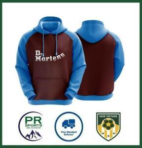 New Vintage Football West Ham United 1998 Retro Home Shirt Adult Unisex Hoodie