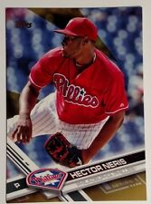 2017 Topps Gold #247 Hector Neris Philadelphia Phillies SN 1554/2017