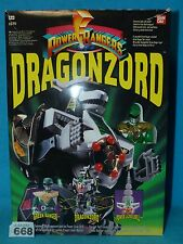 "Power Rangers Tommys Deluxe MMPR ""Dragonzord"" Megazord 100% 668"