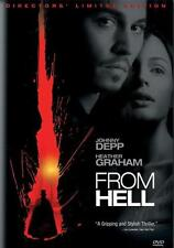 From Hell 2001 DVD NEW SEALED (Two-Disc Special Edition) FOX 2002 Johnny Depp
