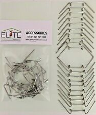 20 Elite Greenhouse Rust Free Stainless Steel W Glazing Clips Butterfly Shaped