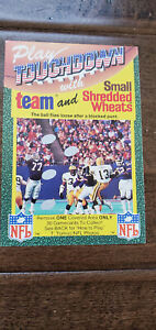 1989 TOUCHDOWN UK ENGLAND NFL CARD PACKERS GIANTS BLOCKED PUNT BILL RENNER