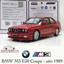 1:18 BMW M3 E30 Coupé año 1989 color Rojo Otto Mobile OT695