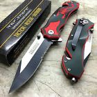 Tac-Force Red Scorpion Tactical Hunting Outdoor Camping Pocket Knife TF-692BR