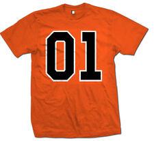 General Lee 01 Men's Orange T-Shirt Retro Funny Dukes Hazzard Rebel Classic S-5X