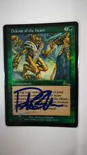 MTG URZA'S LEGACY  Defense of the Heart (foil) SIGNED