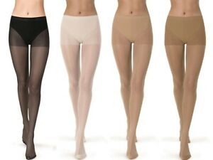 GATTA 5-PACK LAURA 20 DEN TIGHTS FOR WOMEN'S COMFORT SEMI TRANSPARENT STRETCHY