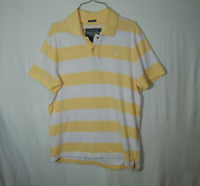 Abercrombie & Fitch AF Short Sleeve Polo Golf Shirt Size LARGE L Mens Clothing