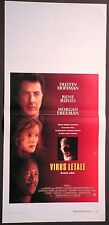 Locandina VIRUS LETALE 1°ED.IT.1995 DUSTIN HOFFMAN RENE RUSSO MORGAN FREEMAN