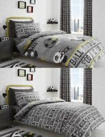 Football,Modern Grey And Silver Duvet Cover Sets-Bedding Sets-Reversible Design