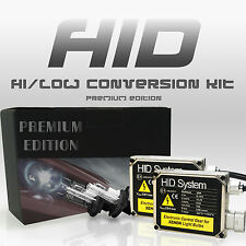 HID System KIT SLIM Xenon 9003 H4 Hi-Lo 6000k White High & Low Conversion Light
