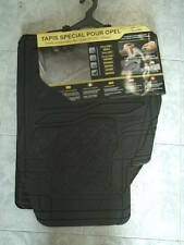 Serie tappeti specifici pvc/moquette alta qualità Opel Zafira