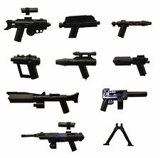 LEGO /Little Arms Star Wars 9-teiliges Waffen-Set Sniper Blaster Pistol *BT10617