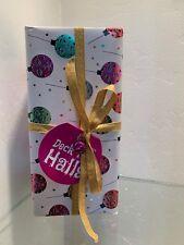 Lush Cosmetics 2018 Deck The Halls Gift Set Bath Bomb Gifts! Nib Gift Wrapped.
