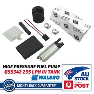 Genuine Walbro GSS342 255 LPH High Pressure Fuel Pump Kit FITS WRX SKYLINE EVO