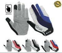 * 50% OFF * Ladies Mens Full Finger BMX Bike Bicycle Cycle Cycling Gloves Mitts