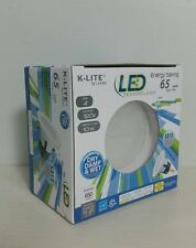 """K-LITE 4""""-Inch LED 65W = 10W Retro Fit Recessed Downlight Fixture Dimmable"""
