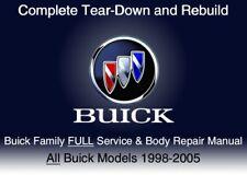 Buick Family 1998-2005 Custom FULL Service Repair WorkShop Manual DvD Software