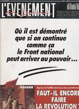 L'evenement Du Jeudi   N°347   27 juin au 3 juillet 1991 : Ou il est demontre qu