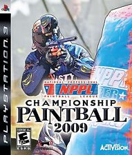 NPPL CHAMPIONCHIP PAINTBALL 2009 PS3