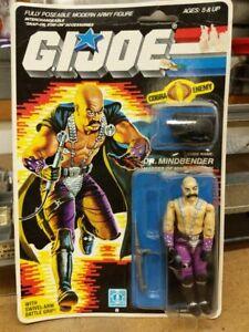 1985 Dr mindbender Cobra GI Joe action figure 3.75 Hasbro new on card complete