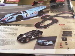 Carrera Digital 124 23609 Classic Speed Set - Ford GT 40 #2  Porsche 917 #2 NEU
