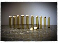 20 leere Probefläschchen/Aromagläser Parfum Fläschchen Probe á 2 ml braun (1160)