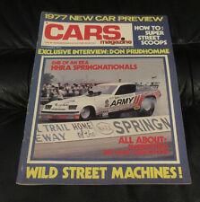 Hi Performance Cars Magazine November 1976 - Don Prudhomme