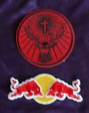 JAGERMEISTER PATCH JAEGER BOMB PATCH LOGO  RED BULL LIQUOR BEER BAR PUB