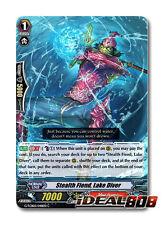 Cardfight Vanguard  x 4 Stealth Fiend, Lake Diver - G-TCB02/048EN - C Mint