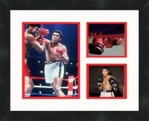 Muhammad Ali black framed collage picture 11X14 Boxing picture Frames By Mail