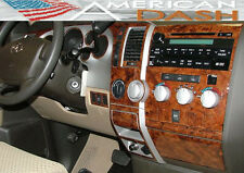 Toyota Sequoia SR-5 SR5 2WD Interior Madera Tablero Trim Kit Set 2008 2009 2010