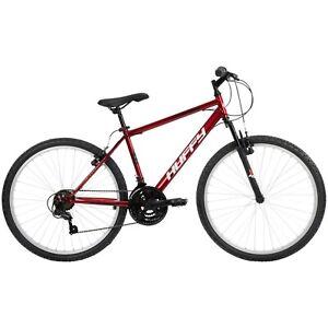 "Huffy 26"" Rock Creek Men's 18-Speed Mountain Bike Red, New arrival free shipping"