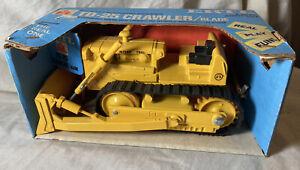Vintage Ertl 1/25 Scale International TD-25 Crawler W/Blade #452 OB