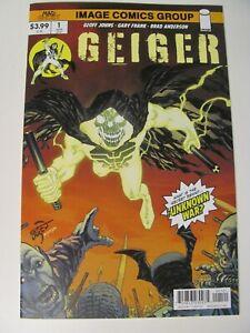 Geiger #1 Image 2021 Series Geoff Johns Gary Frank Larsen Variant 9.6 Near Mint+