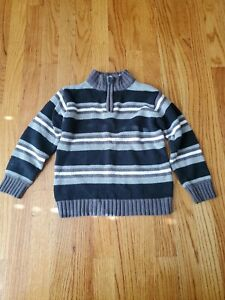 The Children's Place Boys Striped Sweater Size XS 4