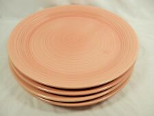 Set of 4 Dinner Plates PEACH REFLECTIONS by Franciscan USA
