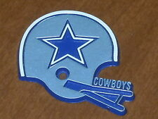 DALLAS COWBOYS Vintage Old NFL RUBBER Football FRIDGE MAGNET Standings Board