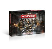 Monopoly Assassin's Creed Syndicate Spiel Brettspiel Gesellschaftsspiel Deutsch