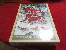 "Cobble Hill ""Adirondack Birds"" 1000 pc jigsaw puzzle Greg & Company NIB SEALED"