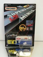 Matchbox Superfast Minis Chevrolet on Blister card 1990