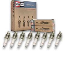 8 pc Champion Copper Plus Spark Plugs for 1957-1959 DeSoto Firedome 5.6L gi