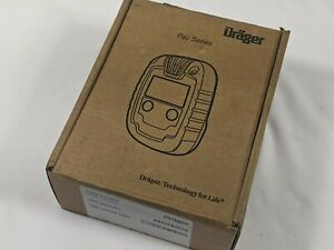 Drager Pac 6500 Single Gas Detection Device Monitor CO,H 2 S, SO 2 or O 2 Sensor