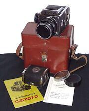 Salut-S (Kiev-88) TL USSR SLR Camera Med. Format 6x6 Vega-12B 2.8/90 lens