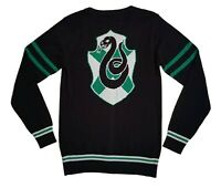 WB Harry Potter Slytherin Cardigan Sweater House Crest button down JRS 2X NWT